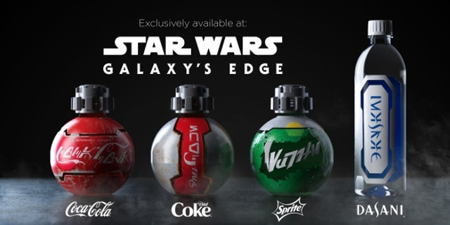 The beverage company designed the beverage bottles, which are available for Coke, Diet Coke, Sprite and Dasani water.
