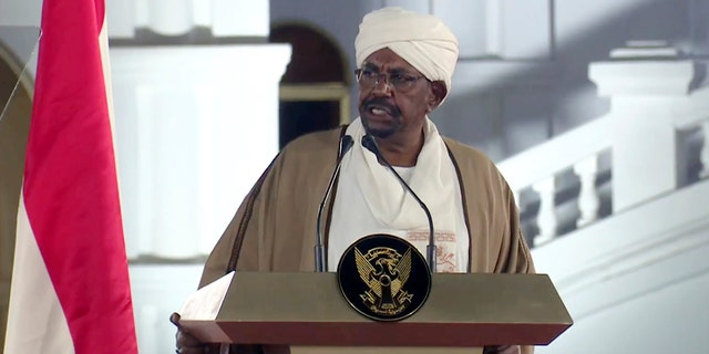 Large amounts of cash were found in suitcases at the home of ousted Sudan President Omar al-Bashir, seen in this file photo.