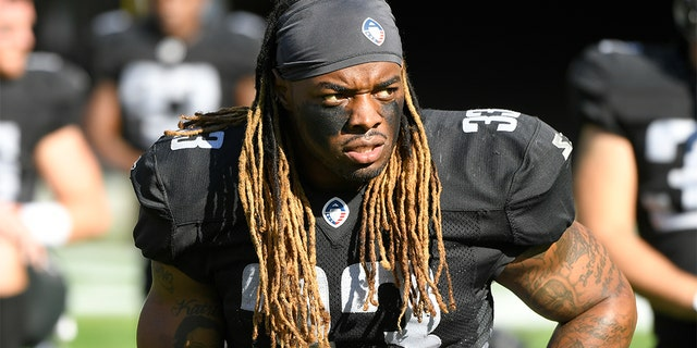 Trent Richardson suited up for the Birmingham Iron stretches of the short-lived Alliance of American Football this spring. (Photo by John McCoy/AAF/Getty Images)