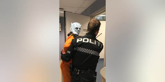 Westlake Legal Group Trondheim-Police-Night-King-1 'Game of Thrones' Night King taken into custody...by Norwegian police Lucia Suarez Sang fox-news/world/world-regions/europe fox-news/us/crime/police-and-law-enforcement fox-news/entertainment/game-of-thrones fox news fnc/world fnc d0a12d89-592c-5455-8afd-722be3ae0741 article