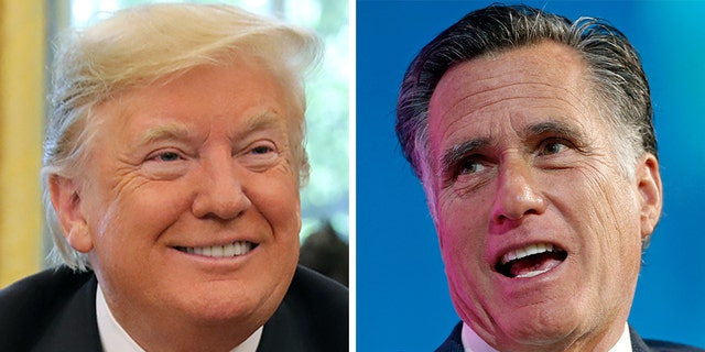 "Sen. Mitt Romney, R-Utah, once a thorn in the side of President Trump, said Democrats' calls for the president to release his tax returns were ""moronic."""