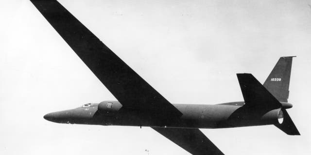 File photo of a U2 spy plane.