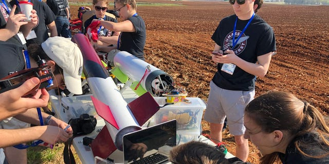 Westlake Legal Group UMASS-TROUBLESHOOT NASA launches student rocket challenge fox-news/us fox-news/tech fox-news/science/air-and-space/nasa fox-news/science/air-and-space/moon fox-news/science fox news fnc/science fnc Charles Watson c9711490-3739-5213-8b71-d8c8600ac4cf article