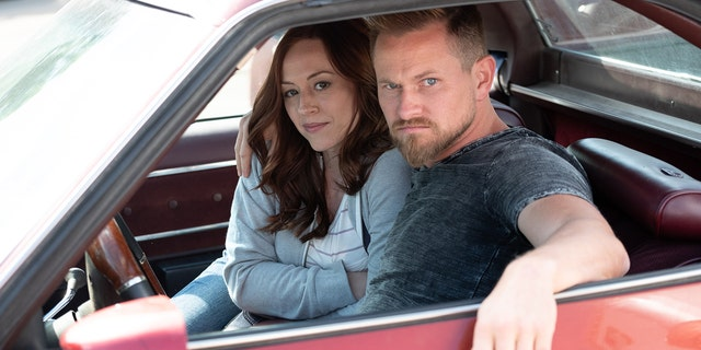 """A still from the film """"Unplanned."""""""