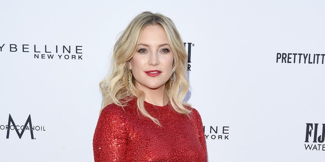 Kate Hudson showed off in a bikini designed by pal Sara Foster.
