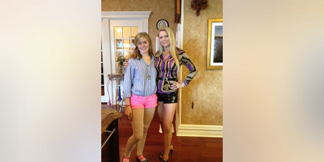 """Jackie Siegel (right) with Victoria. Audiences were introduced to the pair in the documentary """"The Queen of Versailles."""" — Courtesy of Jackie Siegel"""