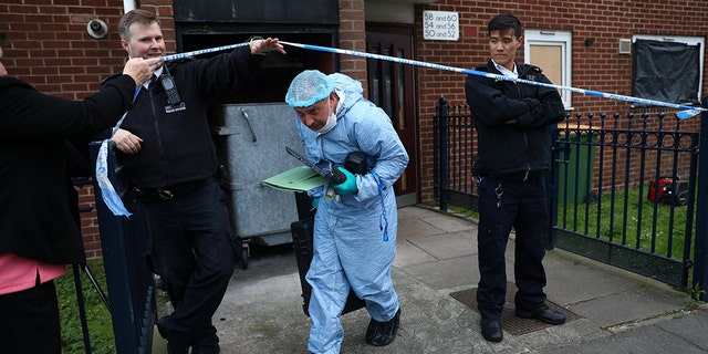 The bodies of two women were discovered inside a freezer at a home in East London on Friday.