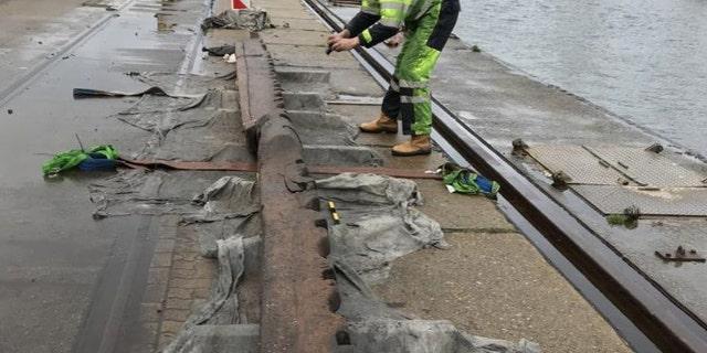 The ship's timbers were perfectly preserved, according to archaeologists. (Landesamt für Kultur und Denkmalpflege Mecklenburg-Vorpommern)