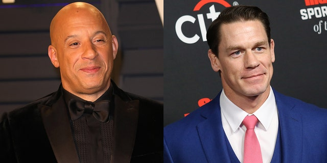 "Vin Diesel announced John Cena will appear in the new ""Fast and Furious"" movie."