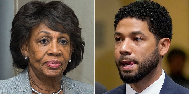 "U.S. Rep. Maxine Waters, D-Calif. said she was ""looking forward"" to seeing actor Jussie Smollett ""very soon."""