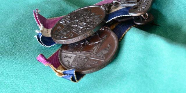 Many West Virginia Civil War veterans were unaware of the medals.