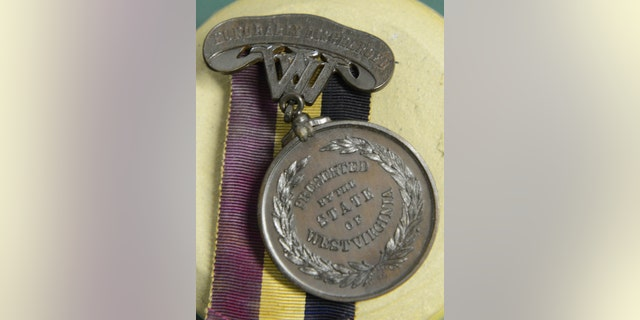 Nearly 20,000 of the medals were distributed between 1866 and 1890. (Steve Brightwell, West Virginia Department of Arts, Culture and History)