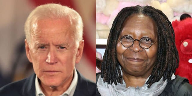 Whoopi Goldberg defended former Vice President Joe Biden on Monday following allegations of inappropriate conduct.