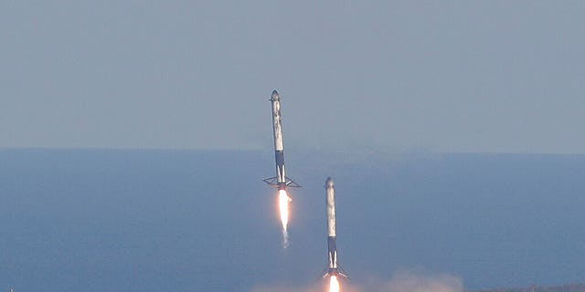 SpaceX's First Falcon Heavy Launch for Paying Customers