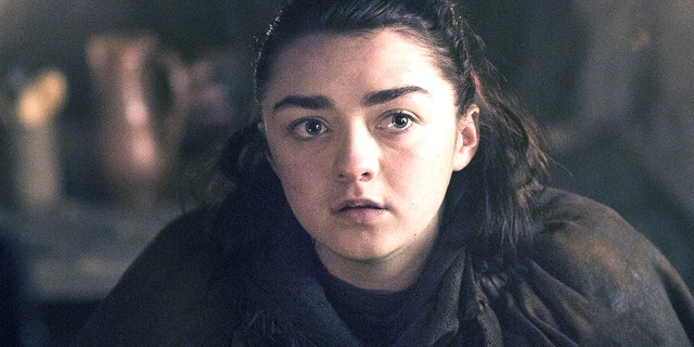 Masie Williams as Arya Stark.