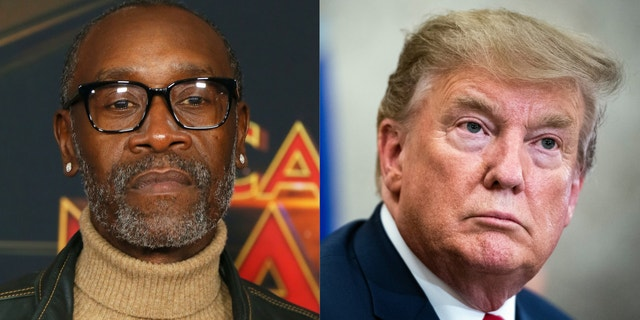 """""""Avengers: Endgame"""" star Don Cheadle wishes Thanos' snap would have eliminated Donald Trump."""