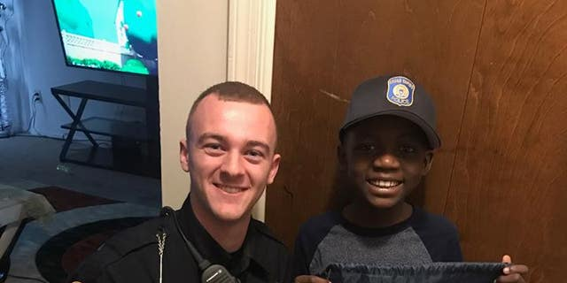 Officer Lynema attended the first birthday party at Thomas Daniel's home only to find that none of his classmates came to celebrate.