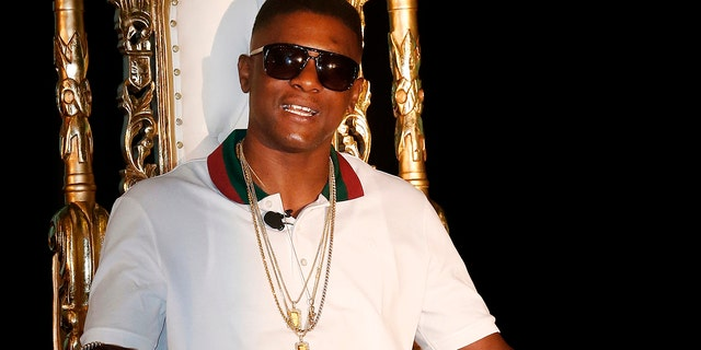 FILE - In this March 10, 2014, file photo, rapper Boosie Badazz appears at a news conference in New Orleans.
