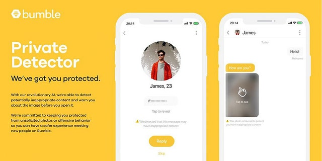 After it rolls out, the Private Detector will automatically blur any images suspected of being lewd. Those who receive the images will then be able to choose whether to view them, block the image or report the offender to moderators of the app.