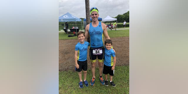 A little more than a year ago, Dylan Davison elected to have his stomach removed after he was diagnosed with a condition that put him at an increased risk of developing aggressive cancer that had already claimed three relatives.