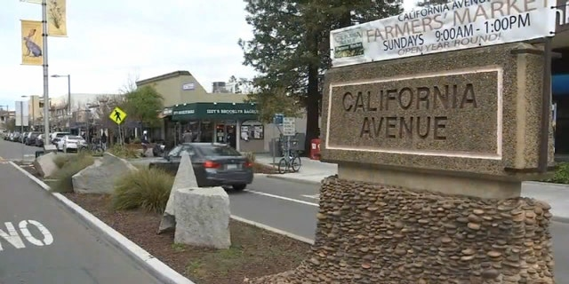The incident occurred outside a Starbucks in Palo Alto, Calif.