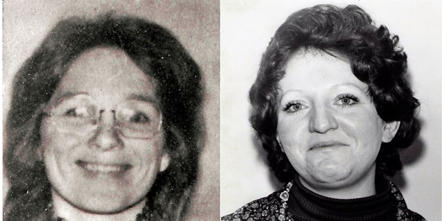Jane Morton Antunez (left) and Patricia Dwyer (right) were killed two months apart in the late 1970s.