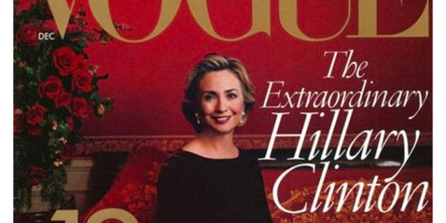 Hillary Clinton appeared on the cover of Vogue in 1998. (Vogue)