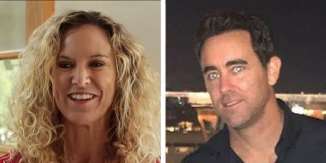 Wendi Miller, 48, and Darren Partch, 38, were found dead in his home in Newport Beach, California, on Sunday, officials said.(YouTube/Facebook)