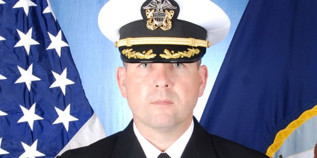 Pictured above, former commander of USS Fitzgerald Cmdr. Bryce Benson and former crew member Lt. Natalie Combs, will not face criminal charges for their role in the 2017 collision of the destroyer which resulted in the deaths of seven U.S. sailors, according to a press release.