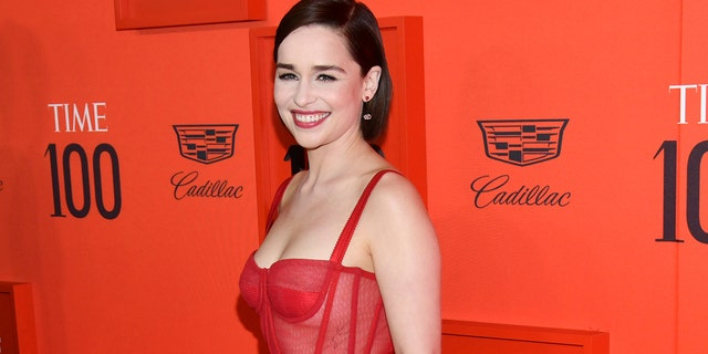 Emilia Clarke took credit for the infamous 'Game of Thrones' coffee cup.