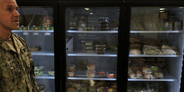 """Gallagher's lawyers, in their filing, say his """"only access to food includes a vending machine and a limited selection of processed food"""" sold by a convenience store at the site where he currently is being held."""