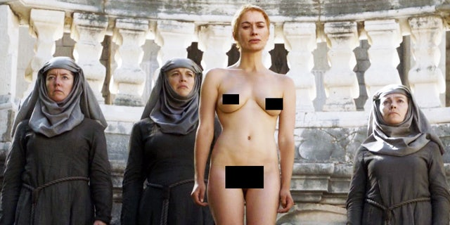 """Lena Headey used a body double for her nude scene when she starred as Cersei in HBO's """"Game of Thrones."""""""