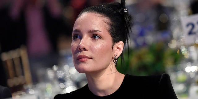 Halsey attends Ending Youth Homelessness: A Benefit for My Friend's Place at Hollywood Palladium on April 06, 2019 in Los Angeles.