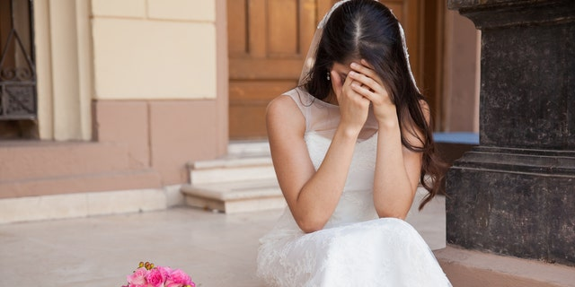 "The bride was apparently so upset by the turn of events, she left halfway through her reception ""in tears,"" and skipped the morning brunch the next day."