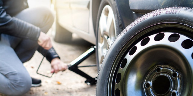Thieves targeting the Jackson Police Department in Mississippi swiped the tires of the patrol cars in two different occasions. (istock)