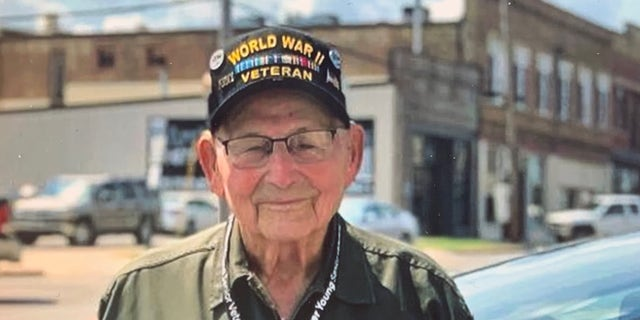 Major Wooten, 102, served as a private in World War II repairing railroad and hospital cars to help support the front lines.