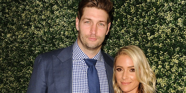 """Jay Cutler and Kristin Cavallari are pictured here during the """"Uncommon James"""" launch on April 27, 2017 in West Hollywood, Calif. In aclip from this Sunday's """"Very Cavallari"""" episode, the couple discusses Cavallari's plans to retire."""
