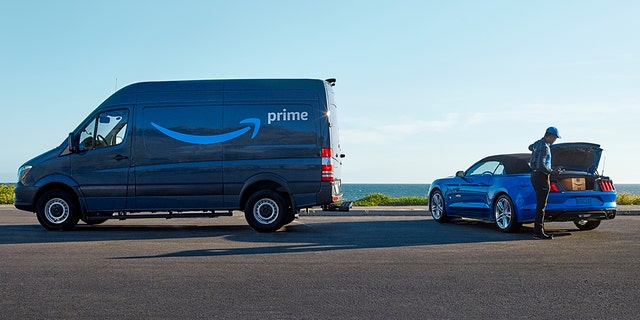 Ford to support Amazon In-Car delivery