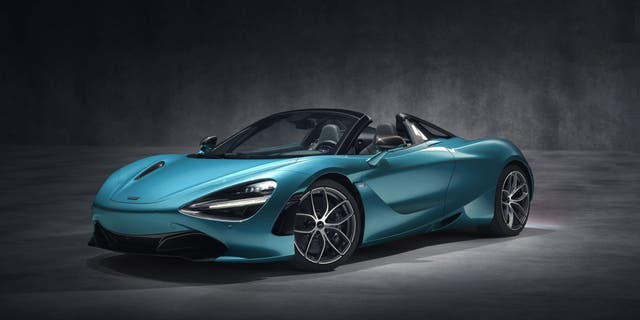 The McLaren 720S has a top speed of 212 mph and starts at $285,000.
