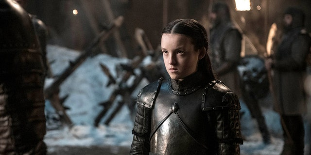 Bella Ramsey as Lyanna Mormont.