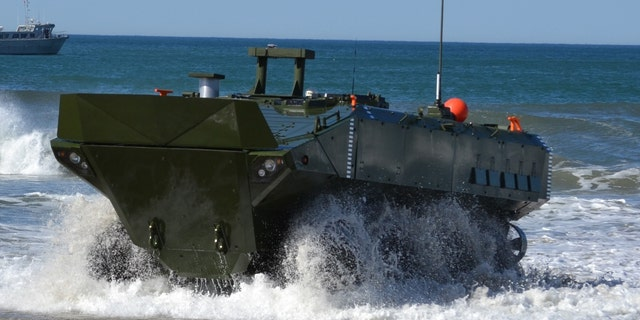 Marine Corps Systems Command awarded a contract to BAE Systems to produce and deliver the Amphibious Combat Vehicle.
