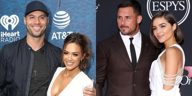 """Michael Caussin, who cheated on Jana Kramer, accused Danny Amendola's ex-girlfriend, former Miss Universe Olivia Culpo, of being a """"climber."""""""