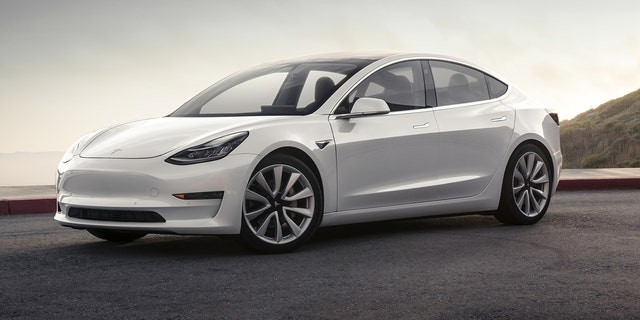Eight additional cameras are located around the exterior of the Model 3.