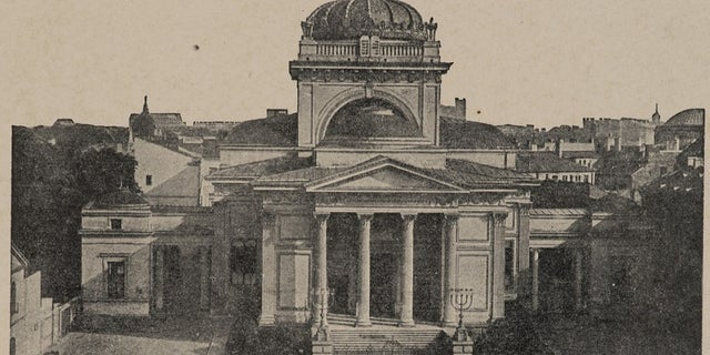Opened in 1878, the synagogue was then the largest in the world. Some 370,000 Jews lived in Warsaw before World War II, or one in three residents out of a population of 1.3 million.