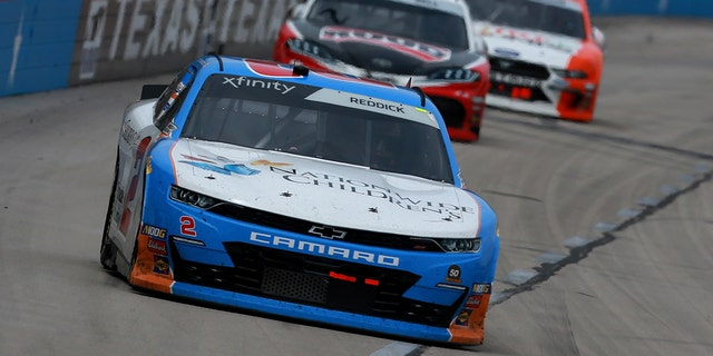 Reddick's #2 car was sponsored by Nationwide Children's Hospital at last weekend's Texas Motor Speedway event.