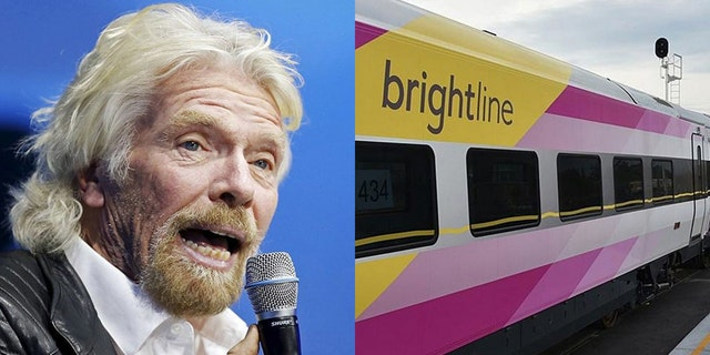 On Thursday, Branson unveiled Virgin MiamiCentral, the new hub for Virgin Trains USA.