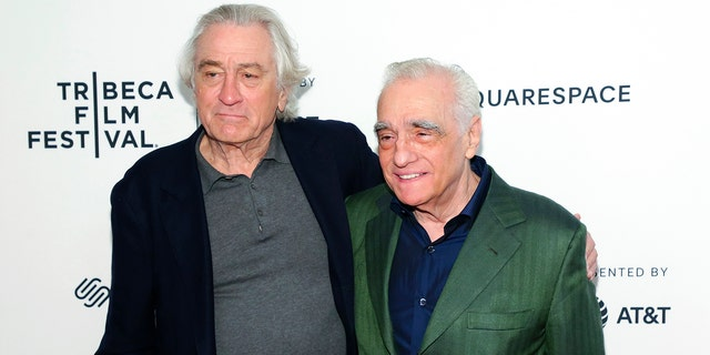 "De Niro and Scorsese have worked on many gangster films together over their careers, including ""Mean Streets,"" ""Goodfellas"" and ""Casino."""