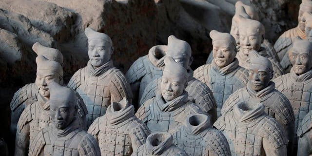 Terracotta Army was built in China's Qin Dynasty. (Reuters)