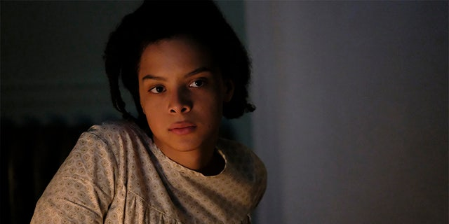 Angela Fairley (pictured) portrayed Regina Louise in one of the darkest moments of her childhood. — Lifetime