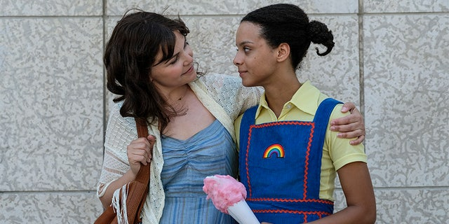 "Ginnifer Goodwin (left) and Angela Fairley star on Lifetime's ""I Am Somebody's Child."" — Lifetime"